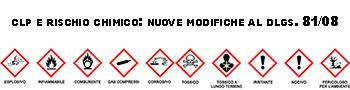 Regolamento CLP e rischio chimico: nuove modifiche al D.Lgs. 81/08