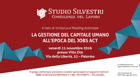 La gestione del capitale umano all'epoca del Jobs Act